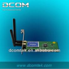 2.4GHz 802.11b/g/n Wireless LAN N 300Mbps internal pci wireless card