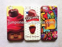 Ice Cream TPU+IMD soft back Case For iphone 5c mini