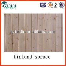 Finland Spruce Wood for Sauna Room