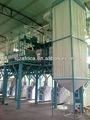 Diseño de edificios de harina de trigo de fresas 100 T de acero sturcture harina de trigo 200 T de harina de trigo de fresas