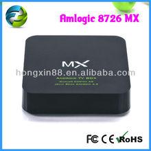 Amlogic 8726 mx cable tv black box, tv tuner box for lcd monitor