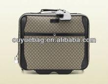 Wholesale waterproof mens travel luggage with brand /trolley bag