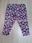 Summer hot selling printed ladies under pants cropped trousers