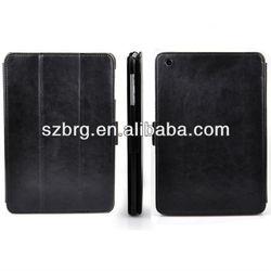 3 folding ultra book leather case cover for ipad mini