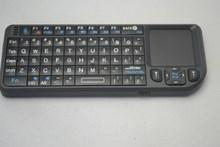 Mini Tastiera multimedia keyboard QWERT Wireless Touchpad Laser PC Computer Tablet