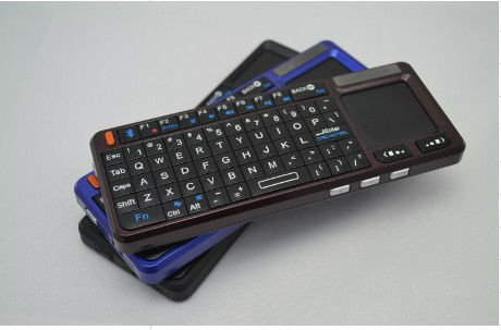Mini Tastiera multimedia keyboard QWERT Wireless Touchpad Laser PC Computer Tablet
