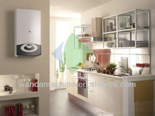 low energy consumption wall mounted hot water gas boiler for shower