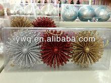 1.57'' Golden Ball Wholesale Christmas ball Decoration Christmas Santa Decoration