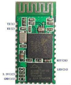 Module Bluetooth to Serial HC-05, Bluetooth to Serial Converter-Master Slave Bluetooth Module