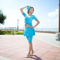 Comfortable Mercerized Cotton Culotte/Pantskirts Belly Dance Suit YOGA Costumes