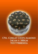 C9A - Coklat Chips Almond