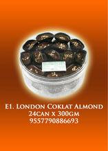 E1 - London Coklat Almond