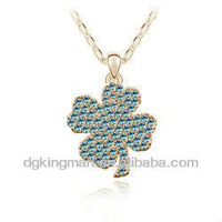 2013 KINGMAN FASHION Premier Designs Jewelry Necklace With Cute Clover Shaped