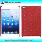 China factory manafature rhinestone pc case for apple ipad wholesale