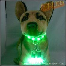 Bightest led dog collar pendant dog decoration