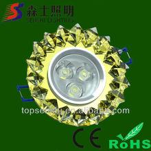 3W 5W 7W 9W LED Ceiling light 220v ac
