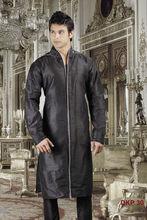 Black Kurta designs for men
