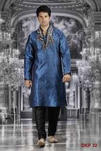 Blue & Black Kurta designs for men