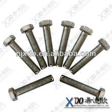 2507 EN1.4410 full threaded double end bolts threaded bar