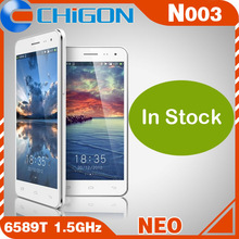 In Stock brand new Neo N003 Premium MTK6589T 1.5GHz Android 4.2 OS Quad Core Android phone 5.0 Inches FHD 1920*1080p 13.0MP