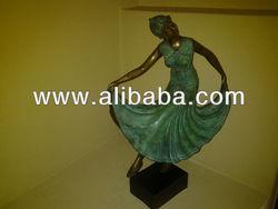 Solid Bronze- Dancing Maiden