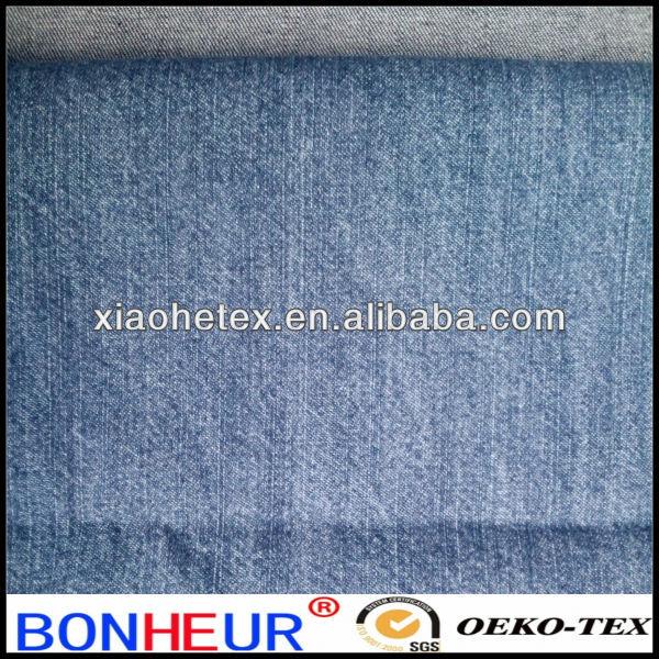 100% cotton denim slub light denim for shirt