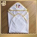 llanura de algodón de felpa de color bebé campana toalla con diseño de los animales