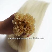 Nail Hair Extention/U tio hair extention/100% Keratin Tip Hair Extention