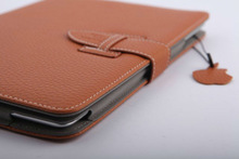 belt clip stand leather wallet case for ipad 4 3 2