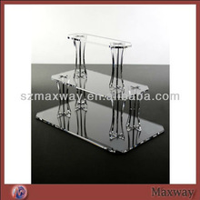 Clear Square Acrylic Plastic Cake Tools Cupcake Stand