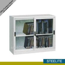 FC-E9 steel file cabinet / sliding glass door