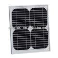 10w solar células de silício monocristalino