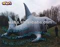 Inflable gigante de los animales del mar/la mascota de dibujos animados/tiburón inflable modelo