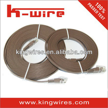 flat utp cat 5 lan cable, patch cable