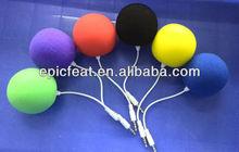 Super Mini Audio Dock Music Sponge Ball Speaker 3.5MM Audio Jack