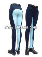 Horse Clothing Impex Ladies Two Tone Jodhpurs - UK sizes