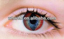 Annuale spettrale gli occhi rossi q023cosmetic colore plano lenti a contatto crazy/qualità perfetta e ingrosso prezzo a buon mercato