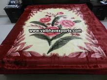 100 % Polyester Super Soft Mink Blankets