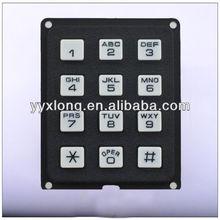 CE certification ip65 rated rugged usb slim numeric keypad