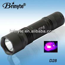 Brinyte D28 UV395nm High Power UV Led Flashlight