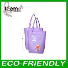 ECO_Best selling!Shopping bag/non woven shopping bag/purple shopping bag