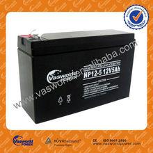 GB 12-5 12V 5AH Security system Lead Acid Battery