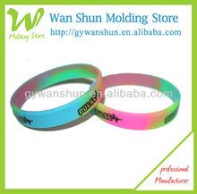Muti-color Silicone Rubber Wrist Sport Band