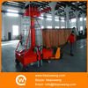 Dual Mast Cylindrical Telescopic Hydraulic Ladder