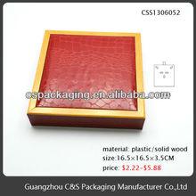 New Design Fashion diy wooden jewelry case