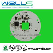 4 Layer PCBA, FR4 LED PCB assembly, LED spot light control board, Lead free Pb free, ISO9001, RoHS