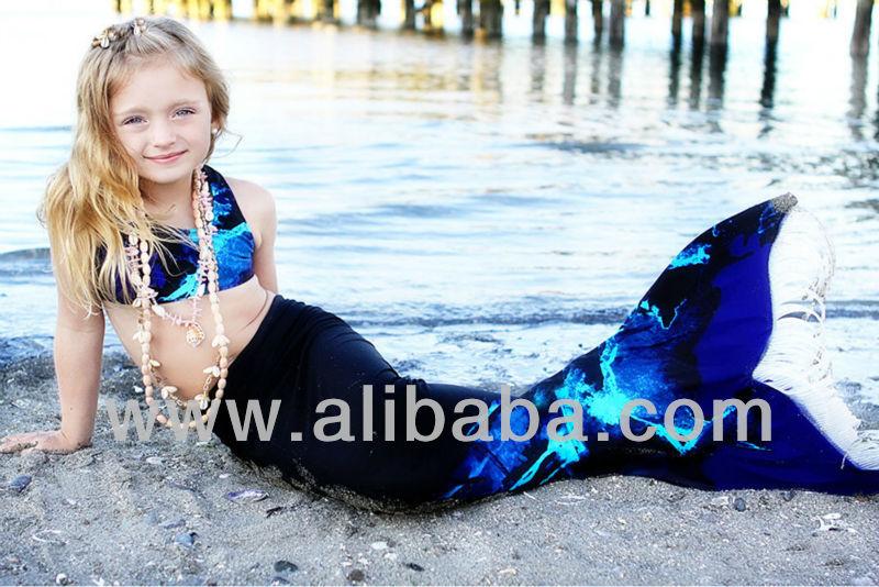 La cola de la sirena : cola linda para los niños
