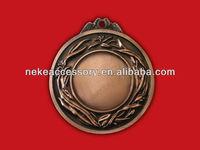 gold / nickel / bronze custom award metal medal
