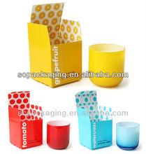 2013 hot sales wax paper box