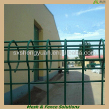 Powder Coated Round Top Garden Wire Fence/Ornamental Round Top Garden Wire Fence/Round Top Garden Wire Fencing